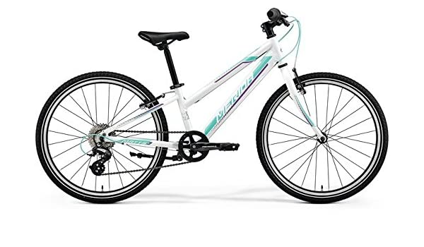 Niños Bicicleta 24 pulgadas color blanco – Merida Matts J24 Race ...