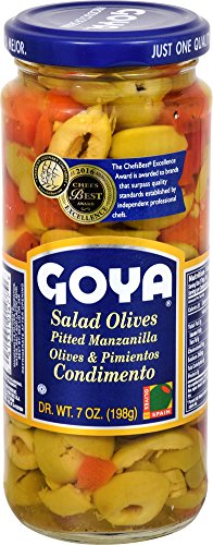 Goya Foods Salad Olives, 7 oz