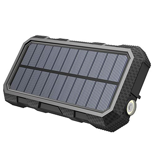 Hiluckey Solar Charger 26800mAh