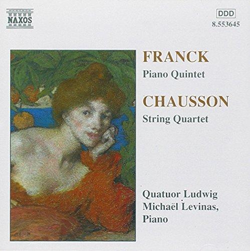 Price comparison product image Franck: Piano Quintet / Chausson: String Quartet