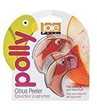 Joie 26611 Polly Citrus Orange Peeler 2 Pack-Random Color