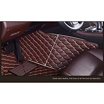 Kanredi Custom Fit Full Covered Car Carpet FloorLiner Floor Mats for BMW 3 Series Year 2008-2012; 2013-2017 Black, Double Layer