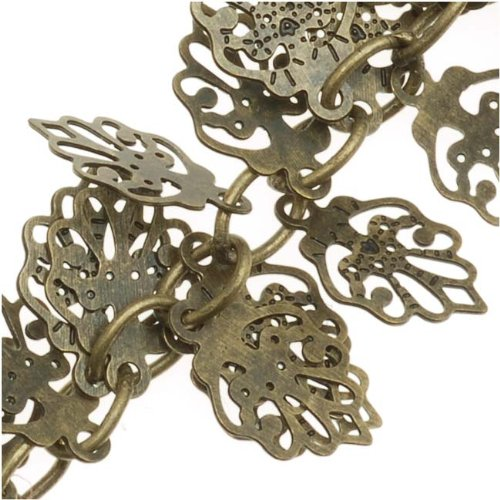 Oak Leaf Beads Charms - 5