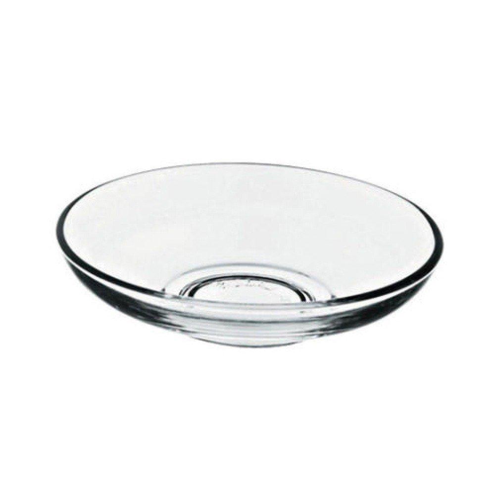 Turkish Tea Glass Saucers, Tea Plates, Cay Tabagi (6 Pieces) by Pasabahce