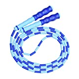 Jump Rope, Beads Segment Jump Rope, Sports-and-Fitness Rope for Kids, Men and Women, Adjustable...