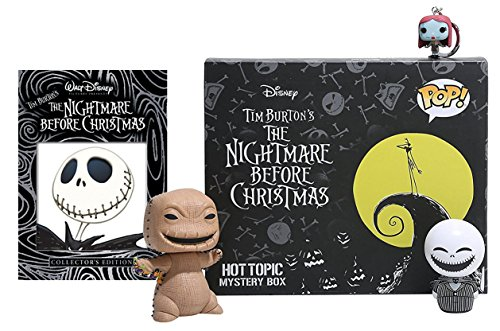 [Tim Burton's Nightmare Before Christmas DVD & Exclusive Funko Pop! Figures Bundle] (Halloween Sesame Street)