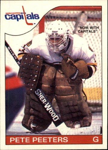 1985 Topps Hockey Card - 5