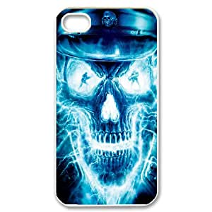Quotes protective Phone Case skull For iPhone 4,4S NP4K03381
