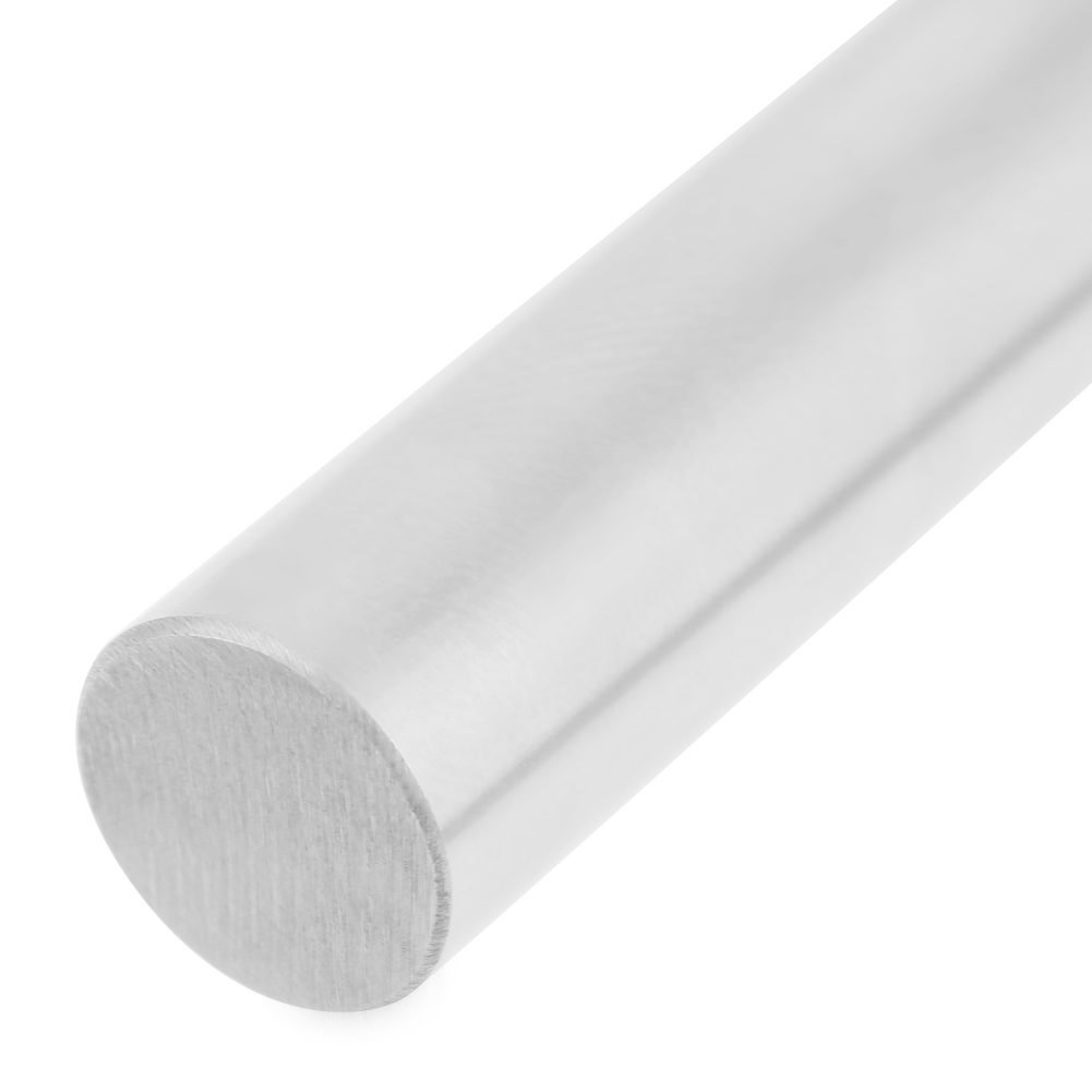 Linear Rods 2pcs 8mm Diameter 600mm Length 304 Stainless Steel Cylinder Rail Linear Shaft Straight Round Rod