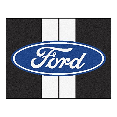 (NASCAR Ford Oval with Stripes All-Star Mat, 34