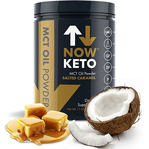 NOWKETO® from Coconuts Carb High Ketogenic Diet Supplement   Boosts Ketones for Diet. Great Creamer.