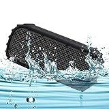 Waterproof Wireless Bluetooth Speaker, Maxace IPX7 Wireless Bluetooth Shockproof Waterproof Outdoor Shower Radio Swimming Pool Speaker, 12 Hours Play time