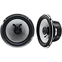 Earthquake VTEK-62XI VTEK 6.5 2 Way Cast Frame Carbon Fiber Audiophile Speakers with 1 Silk Swivel Tweeter 2 OHM 500W
