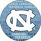 """UNC Tarheels 4"""" Round Word Magnet"""