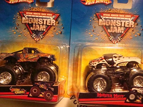Jurassic Attack with Edge Glow Roll Cage Monster Jam include