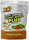 Pet 'N Shape Freeze Dried Peanut Butter Plus Treats For Dogs, Celery And Carrots, 100 Percent Natural, 3 Pack Of 2-Ounce Bags