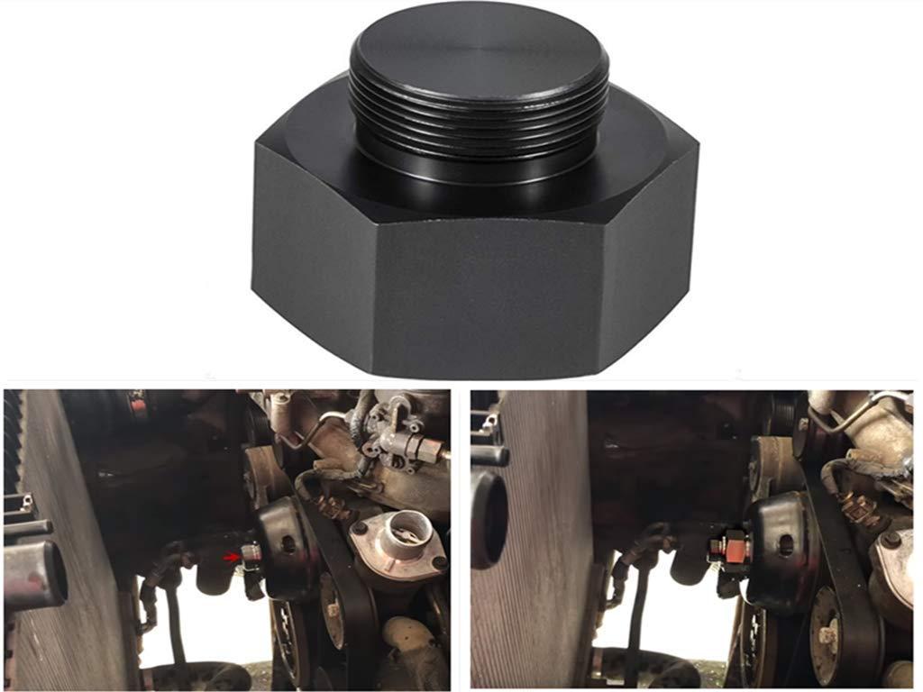 6.0L 7.3L Diesel Mechanical Fan Clutch Adapter for 2003-2007 Ford 6.0L Powerstroke Diesel Engines
