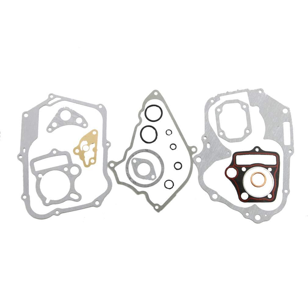 GOOFIT Set completo di guarnizioni per moto da 110 cc ATV Dirt Bike /& Go Kart