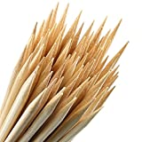 Bamboo Marshmallow Roasting Sticks – With Storage Bag-5mm Thick Extra Long Heavy Duty Wooden Hot Dog Smores Sticks Shish Kabob Skewers Fire Pit Campfire Cooking Kids, 36″ L, 100 Piece