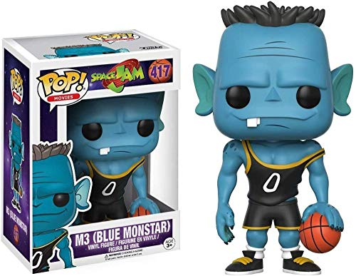 A-Generic Funko Space Jam Figura # 417 M3 Blue Monstar (No Box) Pop! Multico