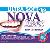 Novadent iP Ultra Soft + FREE soaking bath | Dentures and dental appliances cleanser | 1 year (52 sachets)