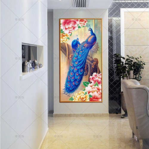 5D Swan DIY Cross Stitch Painting Sticker Pasted Gift - 7