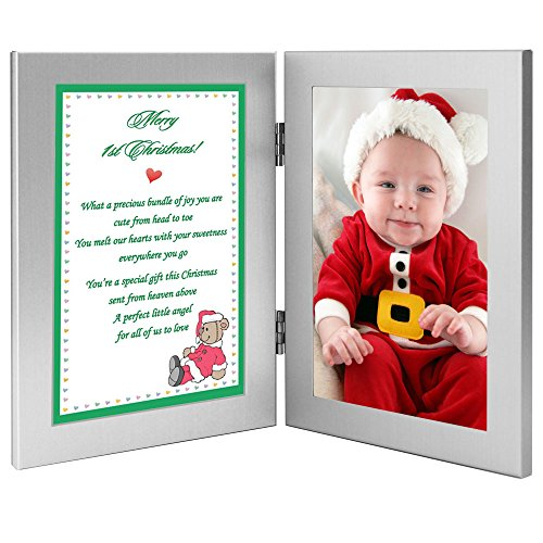 (Precious Bundle of Joy Frame, Gift for Baby's First Christmas – Add Photo)