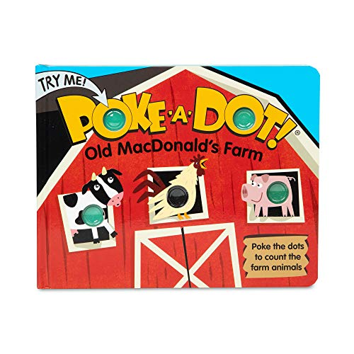 Melissa & Doug Children's Book – Poke-A-Dot: Old Macdonald'S Farm (Board Book with Buttons To Pop)