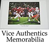 David Palmer Signed Autographed Auto Alabama Crimson Tide Print w/The Deuce is Loose - Proof