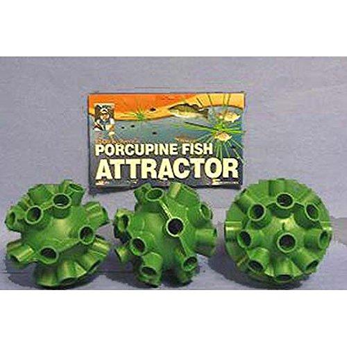 Cedars Bill Dance Porcupine Fish Attractor Spheres 3 Pack