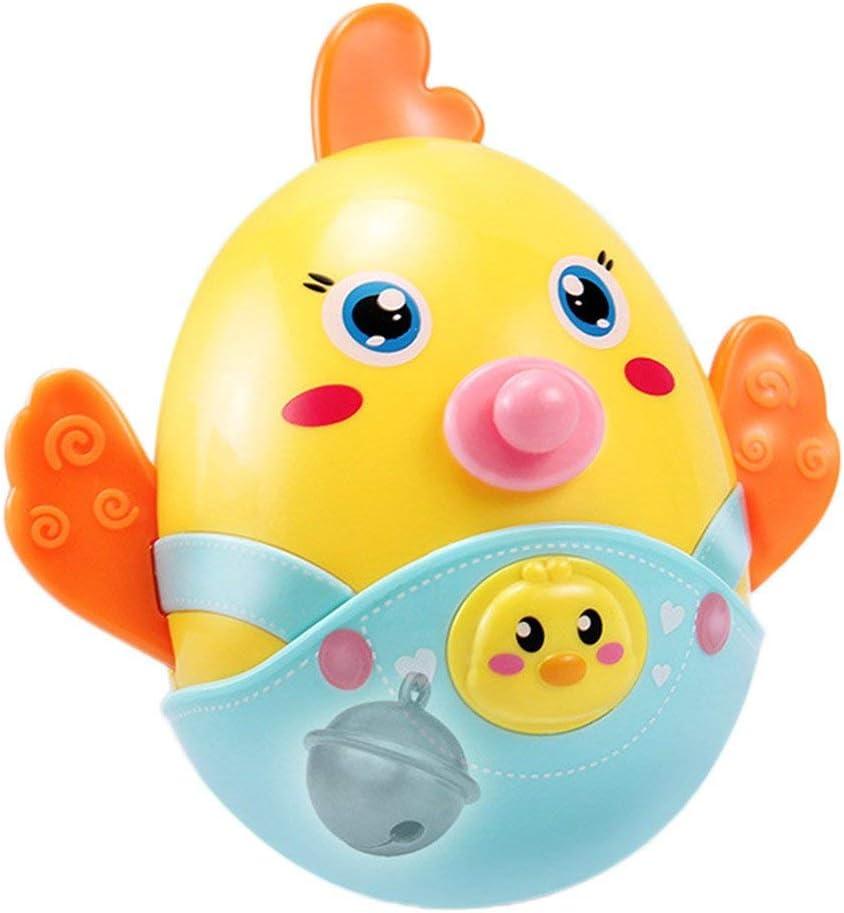 toy Niño, niña, niño, juguetes educativos para el automóvil, juguete para vasos, niños Chick Baby Mobile Bell Asintiendo con la cabeza Vaso Juguete para diversión Regalo para recién nacidos
