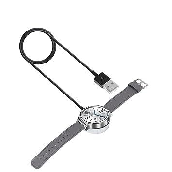 Bemodst® Cargador para Huawei reloj - Cargador Portátil de carga Dock cuna estación Cargador con cable para Huawei reloj 1 M
