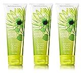 Lot of 3 Bath & Body Works WHITE CITRUS 24 Hour Moisture Ultra Shea Body Cream 8 oz / 226 g