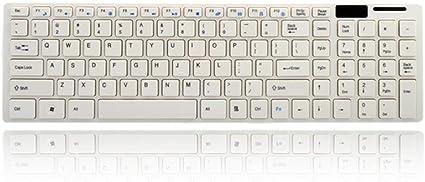 ERKEJI Teclados Teclado inalámbrico ratón configurar ...