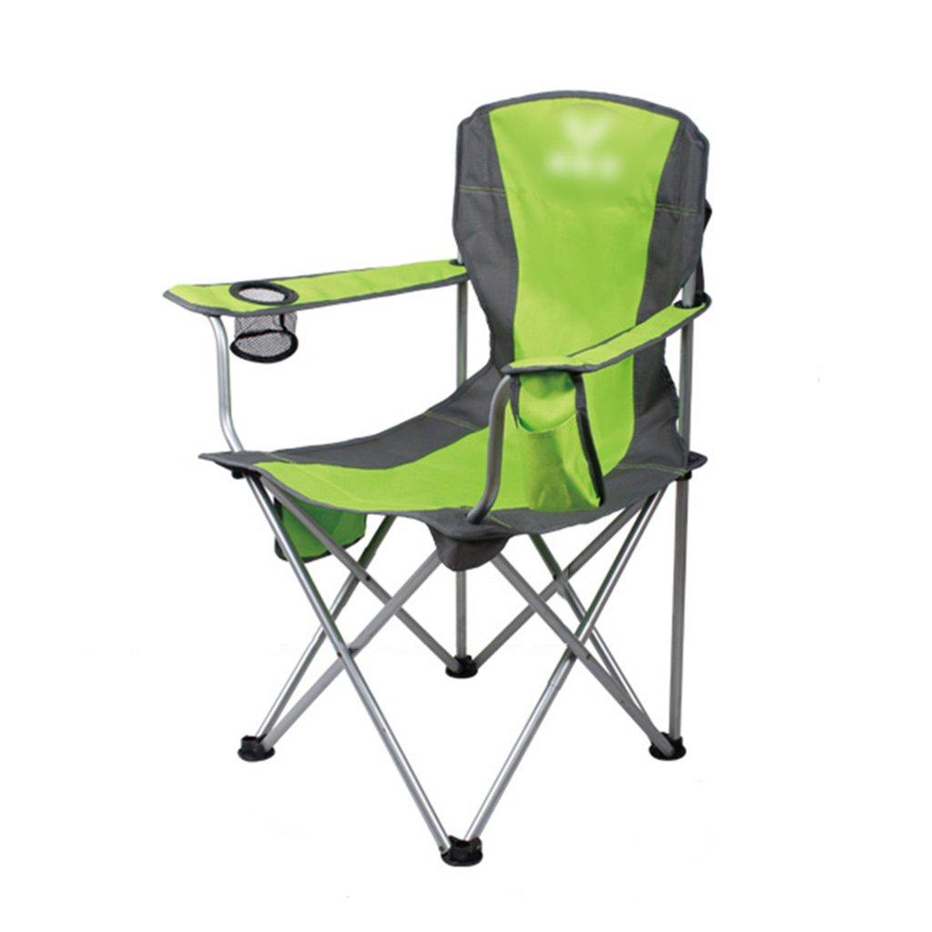 ZGL 旅行椅子 屋外折りたたみチェアポータブルビーチカジュアルチェア折りたたみ釣り用スツール背もたれ椅子屋外椅子の色オプション ( 色 : Green-3 ) B07C77BL66 Green-3 Green-3
