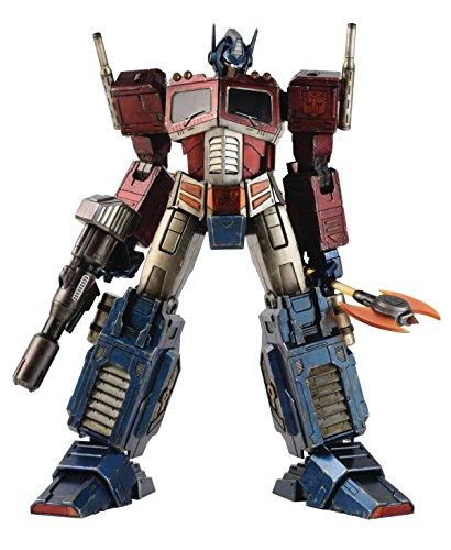 Three A x: Transformers Generation One: Optimus Prime Classic Edition Premium Scale Action Figure
