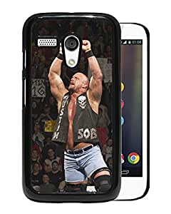 Beautiful Designed Cover Case For Motorola Moto G With Stone Cold Steve Austin Black Phone Case