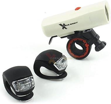 Xtreme Bright Set de Luces para Bicicleta de Larga duración con ...
