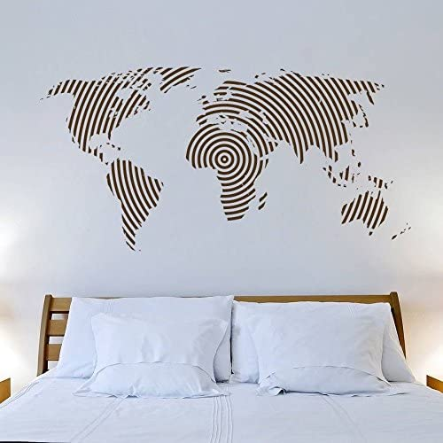 Mapa del Mundo España Pegatina Adhesivo Vinilo Muurstickers Arte Pared carteles Pegatinas Pegatina Quadro Parede decoración mural Adhesivo Mapa mundial: Amazon.es: Hogar