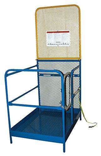 Vestil Work Platform Optional 84 In Back Height by Vestil