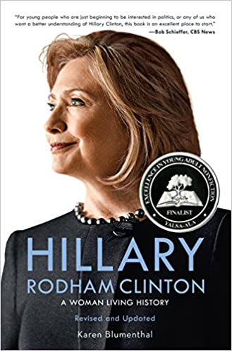 cover of hillary rodham clinton a woman living history