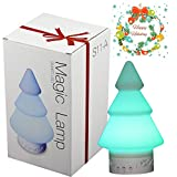 Cheap Yunruipeng Christmas-tree Bluetooth Speaker Wireless Stereo Subwoofer Smart Touch Lamp Speaker Color Changing
