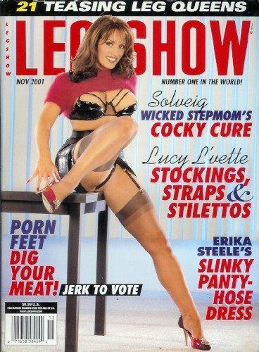 Leg Show Magazine - November 2001: Lucy L'vette, Erika Steele, and - Naked Erika