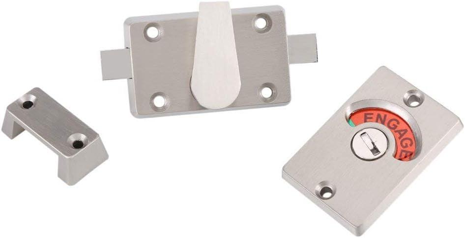 l22174np pour répondre à une finition chrome Boulon Loquet Porte interne à travers