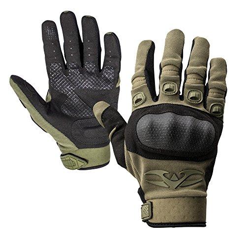 Valken Zulu Gloves, X-Large, Olive