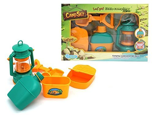 Let's Go! Little Folks 4 Piece Camping Set