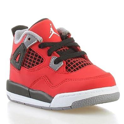 Nike JORDAN 4 RETRO (TD)-27 - 10 308500-603-27 - 10 Rouge