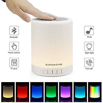 Touch Lamp Night Light Bluetooth Speaker Portable