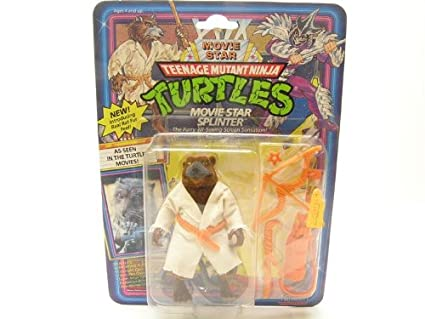 Amazon.com: TMNT Movie Star Splinter: Toys & Games