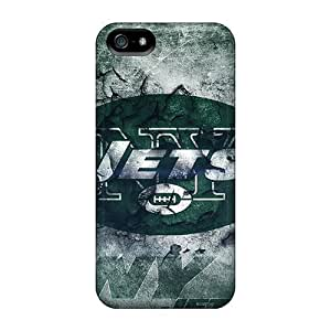 Durable Case For The Iphone 5/5s- Eco-friendly Retail Packaging(new York Jets)